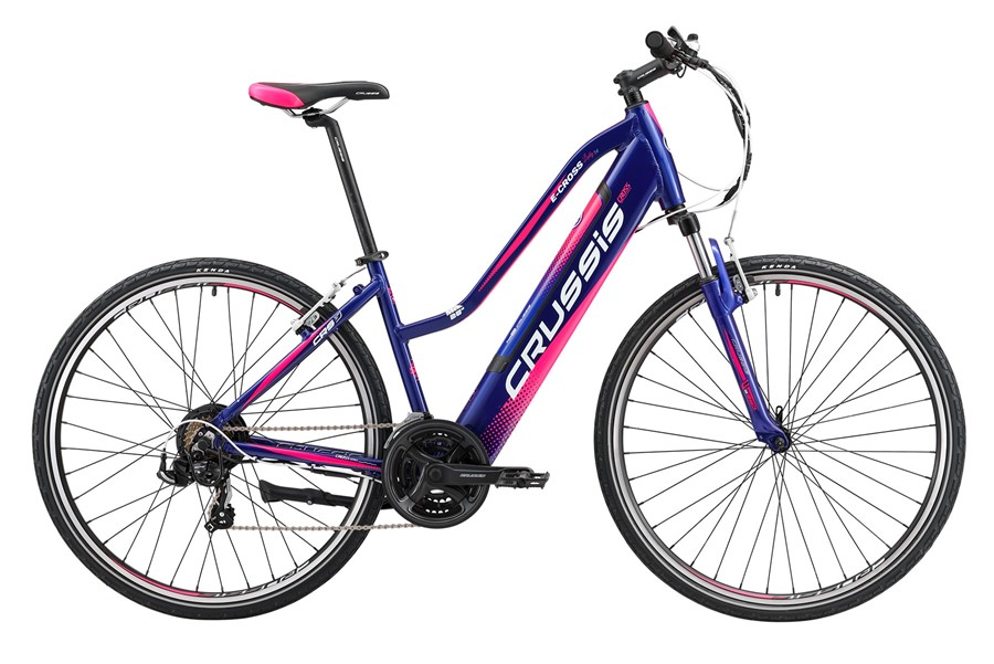 "e-Cross lady 1.4 (17) Elektrokolo cross 28"", rám 17"" (13Ah)"